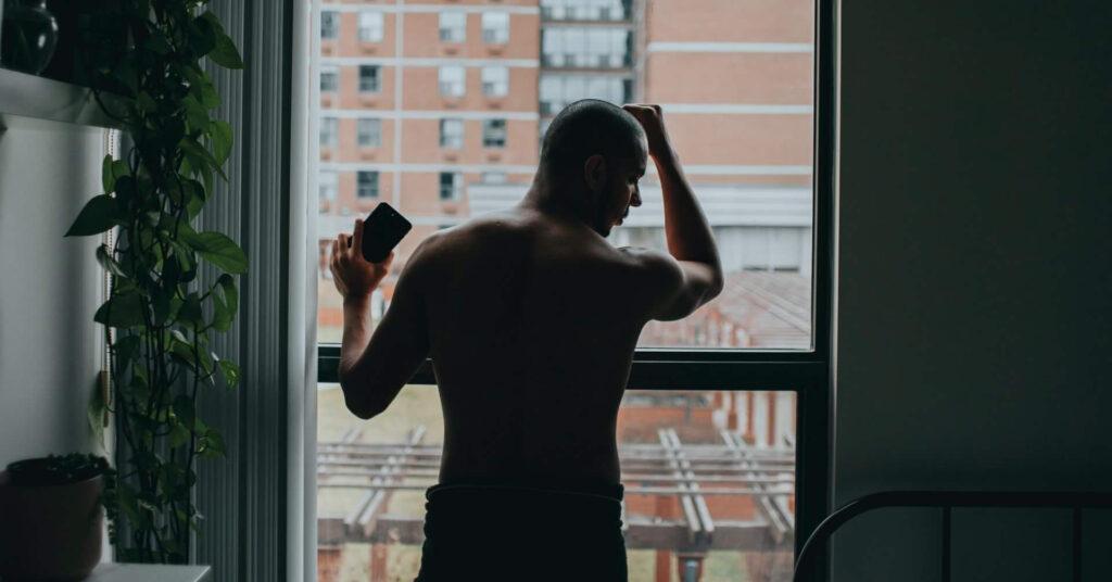 bald man regret getting a scalp micropigmentation