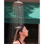 hot shower bath